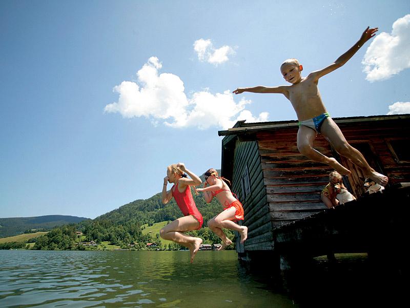 Vacanze al lago sulle Alpi Bavaresi