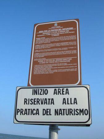 Aree naturiste del nord Italia fino alla Liguria