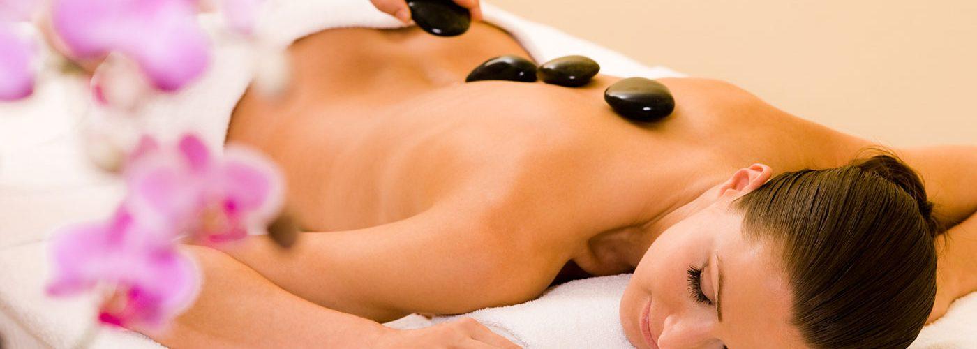 massaggio hot stone