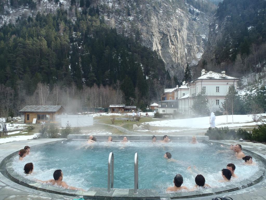 Terme Pré-Saint- Didier : bellezza della Valle D'Aosta